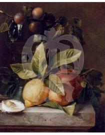 Устрицы и лимон