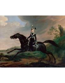 Конный портрет великого князя александра Николаевича