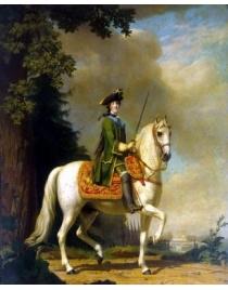 Портрет Екатерины II верхом