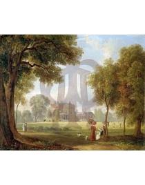 Романтический пейзаж Усадьба