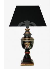 Лампа с абажуром 'Английский Герб'