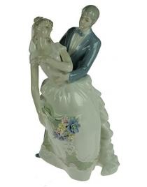 Статуэтка Жених и невеста, фарфор 30см
