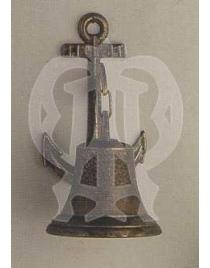 Корабельный колокол 1824 с якорем