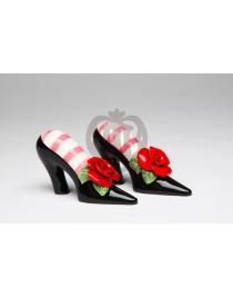 Набор для специй 'Туфли с розой'