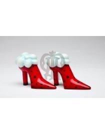 Набор для специй 'Туфли красные'