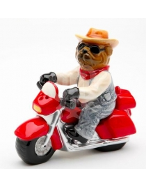 Набор для специй 'Собака на мотоцикле'
