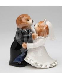 Набор для специй 'Мишки свадебная пара'