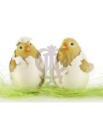 Цыплята в скорлупе