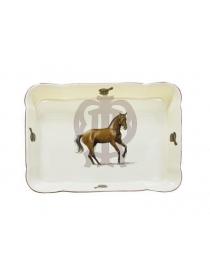 Блюдо для выпекания прямоугольное'Horse'