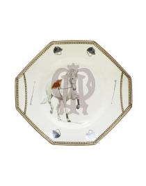 Блюдо шестиугольное 'Horse'