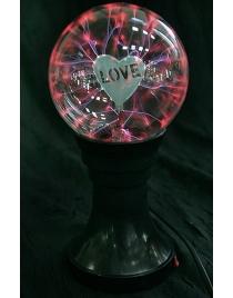 Настольный плазменный сувенир Любовь d=13см