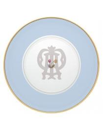 Тарелка подстановочная Голубая Авалон