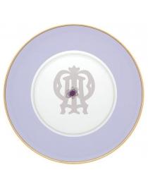Тарелка подстановочная Фиолетовая Авалон