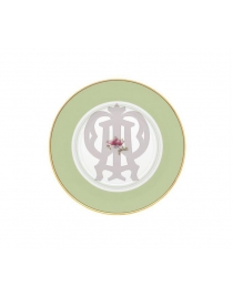 Тарелка пирожковая Зеленая Авалон