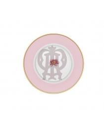 Тарелка пирожковая Розовая Авалон
