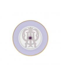 Тарелка пирожковая Фиолетовая Авалон