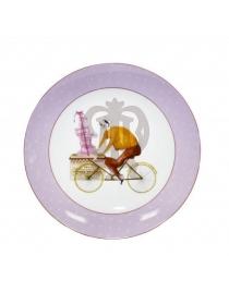Десертная тарелка 'Веселый Повар - Клубника'