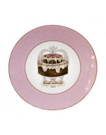 Пирожковая тарелка 'Веселый Повар - День Рождение'