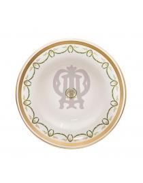 Тарелка 16 см десертная - пирожковая 'Титаник'