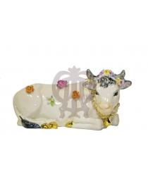 Корова (в цветочек)