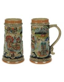Пивная кружка коллекционная Мюнхен 21см, 850мл
