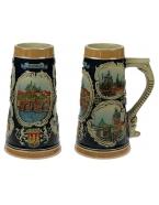 Пивная кружка коллекционная  Прага 20см, 700мл