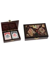 Подарочный набор Покер 17*12*4см