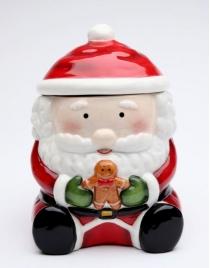 Банка для сладостей 'Santa и Ginger'