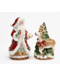 Набор для специй 'Санта и олень'