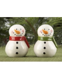 Набор для специй 'Снеговик' керамика 7см