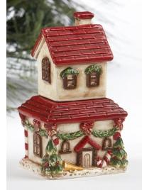 Набор для специй 'Дом на  Рождество' керамика