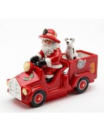 Набор для специй 'Санта на пожарной машине'