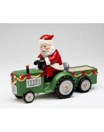 Набор для специй 'Санта на тракторе'