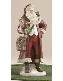 Санта с сумкой 26 см