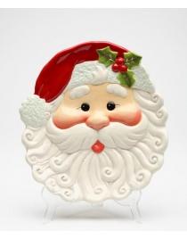 Тарелка декоративная 'Санта'
