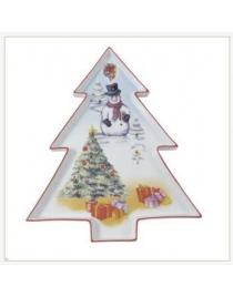 Большое блюдо 'Рождественское дерево'