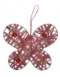 Декоративное украшение Бабочка 26*8см