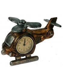 Часы-термометр Вертолет настольные 20*14*11см