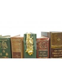 Закладка для книг 'Рука и роза' 8 см