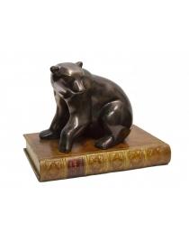 Пресс для бумаг 'Медведь полярный'