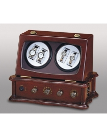 (Zh) Шкатулка для подзар. часов с радио ''Лугано''