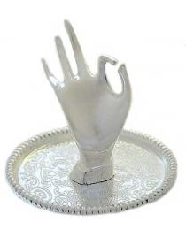 Подставка для колец Изящная рука 7см
