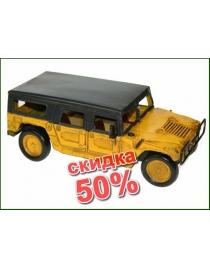 Коллекционная модель ретро-автомобиля Hummer 27*15*10см