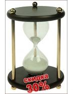 Сувенир: песочные часы на 30 мин. 12*12*8см