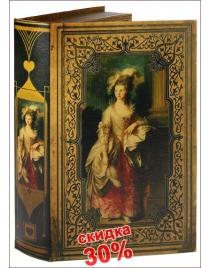 Набор шкатулок-фолиантов Т.Гейнсборо Портрет Мэри Грэм из 2-х шт. 34*20*7см