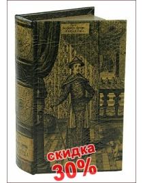 Шкатулка-фолиант 21*13*5см
