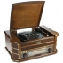 Музыкальный центр-ретро. Функции: винил, AM/FM, CD, аудио, USB 50*34*21см