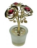 Фигурка декоративнакя Три розы 7*10см