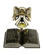 Фигурка декоративная Ангел с книгой 7*7см