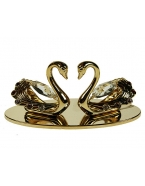 Фигурка декоративная Лебеди 10*5см